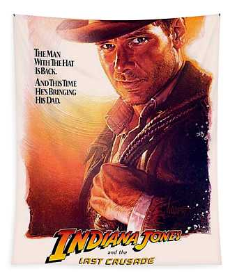 Indiana Jones And The Last Crusade  Tapestry