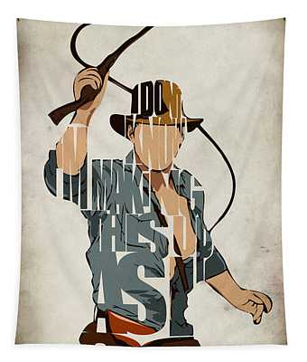 Indiana Jones - Harrison Ford Tapestry