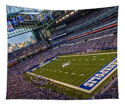 Indianapolis And The Colts Tapestry