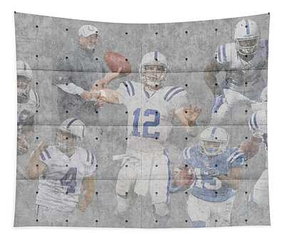 Indianapolis Colts Team Tapestry