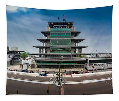 Indianapolis Motor Speedway Tapestry