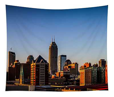 Indianapolis Skyline - South Tapestry
