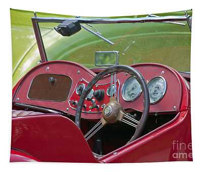 Red Mg-td Convertible  Tapestry