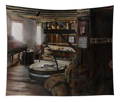 Inside The Flour Mill Tapestry