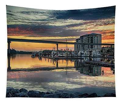 Intercoastal Waterway And The Wharf Tapestry