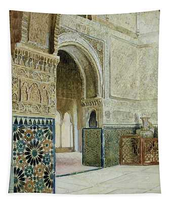 Interior Of The Alhambra  Tapestry