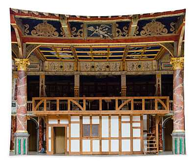 Interiors Of A Stage Theater, Globe Tapestry