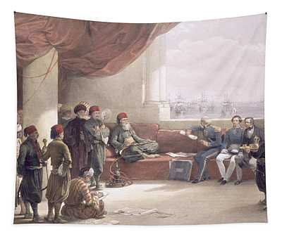 Interview With The Viceroy Of Egypt Tapestry