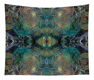 Intrigue Of Mystery Two Of Four Tapestry