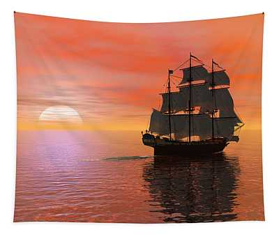 Invisible Breeze Tapestry