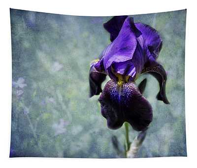 Iris - Purple And Blue - Flowers Tapestry