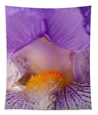 Iris Detail Tapestry