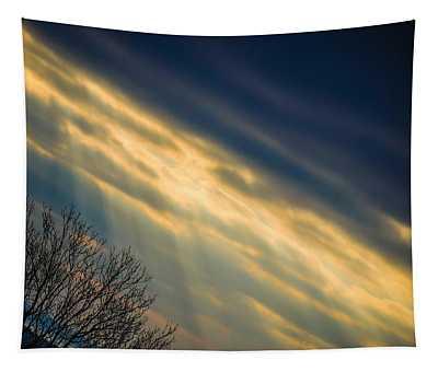 Tapestry featuring the photograph Irish Sunbeams by James Truett