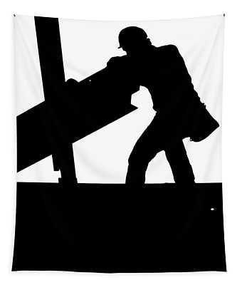 Ironworker 1 Tapestry