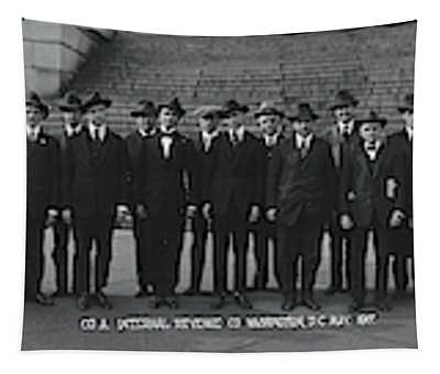 Irs Employees Washington Dc Tapestry