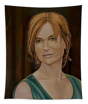 Isabelle Huppert Painting Tapestry