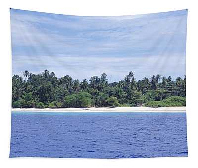 Island In The Sea, Indonesia Tapestry
