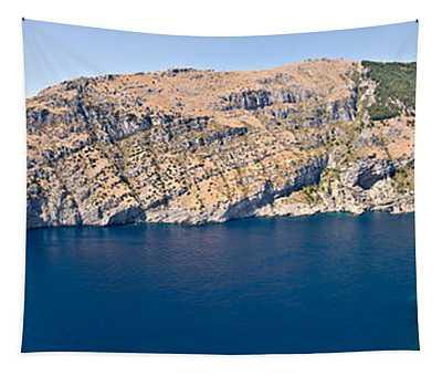 Island In The Sea, Punta Campanella Tapestry