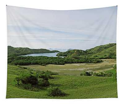 Island, Rinca Island, Indonesia Tapestry