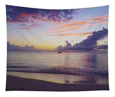 Island Sunset Tapestry