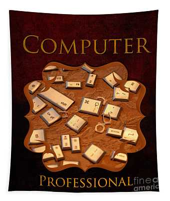 It Computer Professional  Tapestry