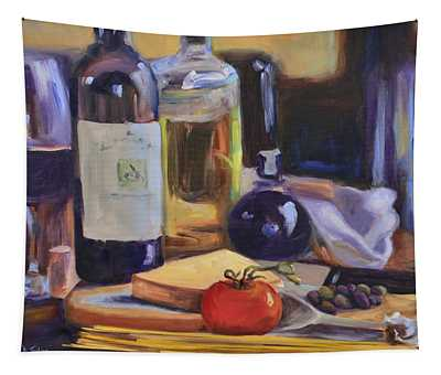 Italian Kitchen Tapestry