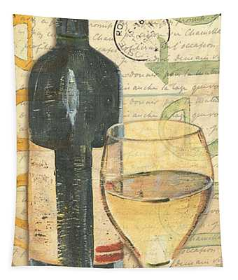 Italian Wine And Grapes 1 Tapestry