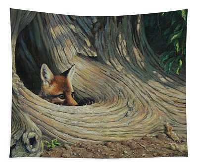 Fox - It's A Big World Out There Tapestry