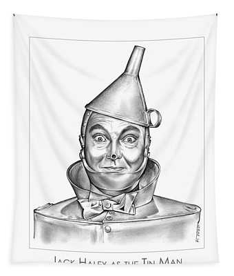 Jack Haley As The Tin Man Tapestry