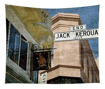 Jack Kerouac Alley And Vesuvio Pub Tapestry