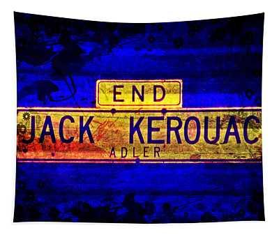 Jack Kerouac Alley Tapestry