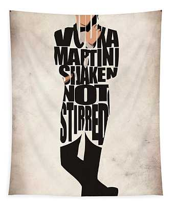 James Bond Tapestry