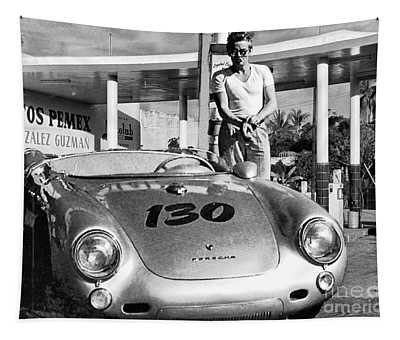 Last Picture Taken Of James Dean Tapestry