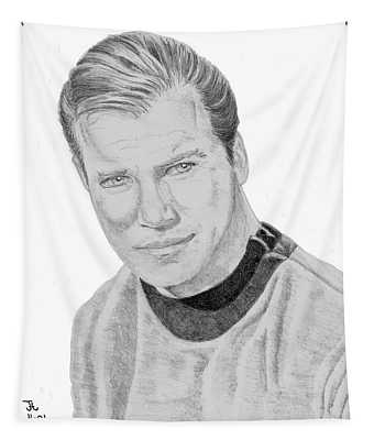 James Tiberius Kirk Tapestry