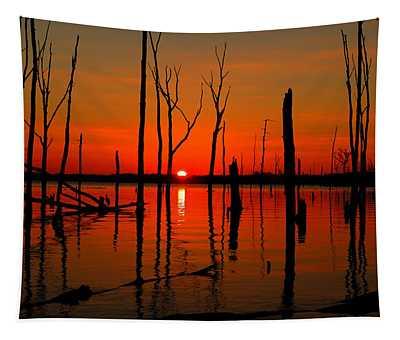 January Sunrise Tapestry