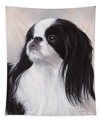 Japanese Chin Painting Tapestry