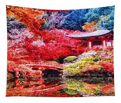 Japanese Garden Tapestry
