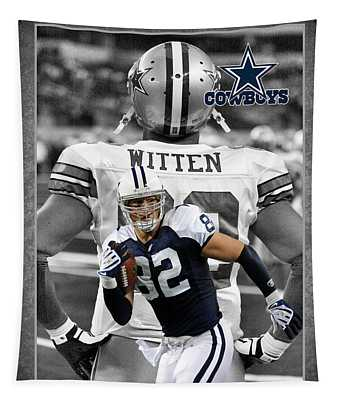 Jason Witten Cowboys Tapestry