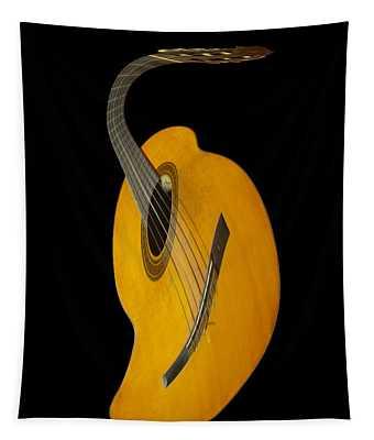 Jazz Guitar Tapestry