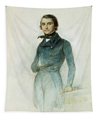 Jean Joseph Louis Blanc 1811-82 1835 Pastel On Paper Tapestry
