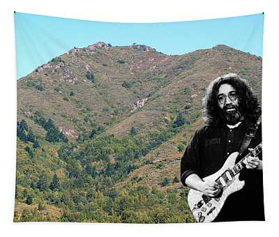 Jerry Garcia And Mount Tamalpais Tapestry