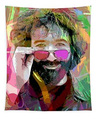Jerry Garcia Art Tapestry