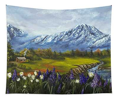 Jessy's View Tapestry