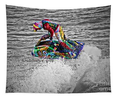Jet Ski Tapestry