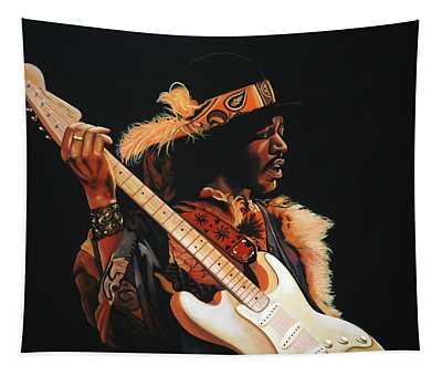 Jimi Hendrix 3 Tapestry