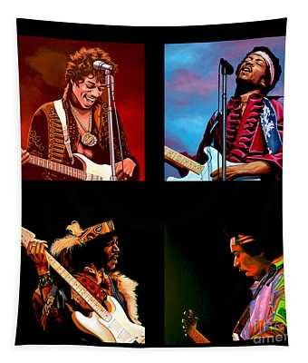 Jimi Hendrix Collection Tapestry