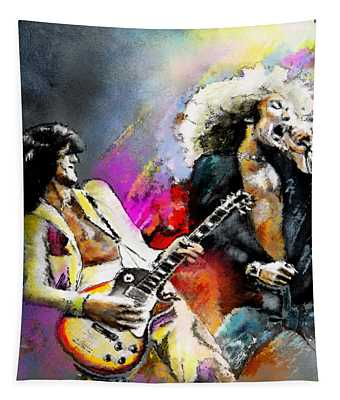 Jimmy Page And Robert Plant Led Zeppelin Tapestry