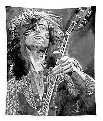 Jimmy Page Mono Tapestry