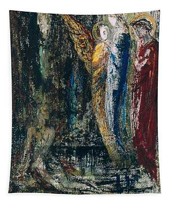 Job And The Angels Tapestry