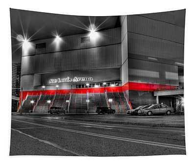 Joe Louis Arena Detroit Mi Tapestry